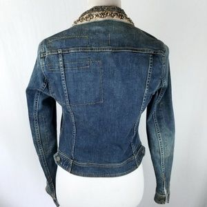 Anthropologie Jackets & Coats - Anthro Holding Horses Embellished Denim Jacket